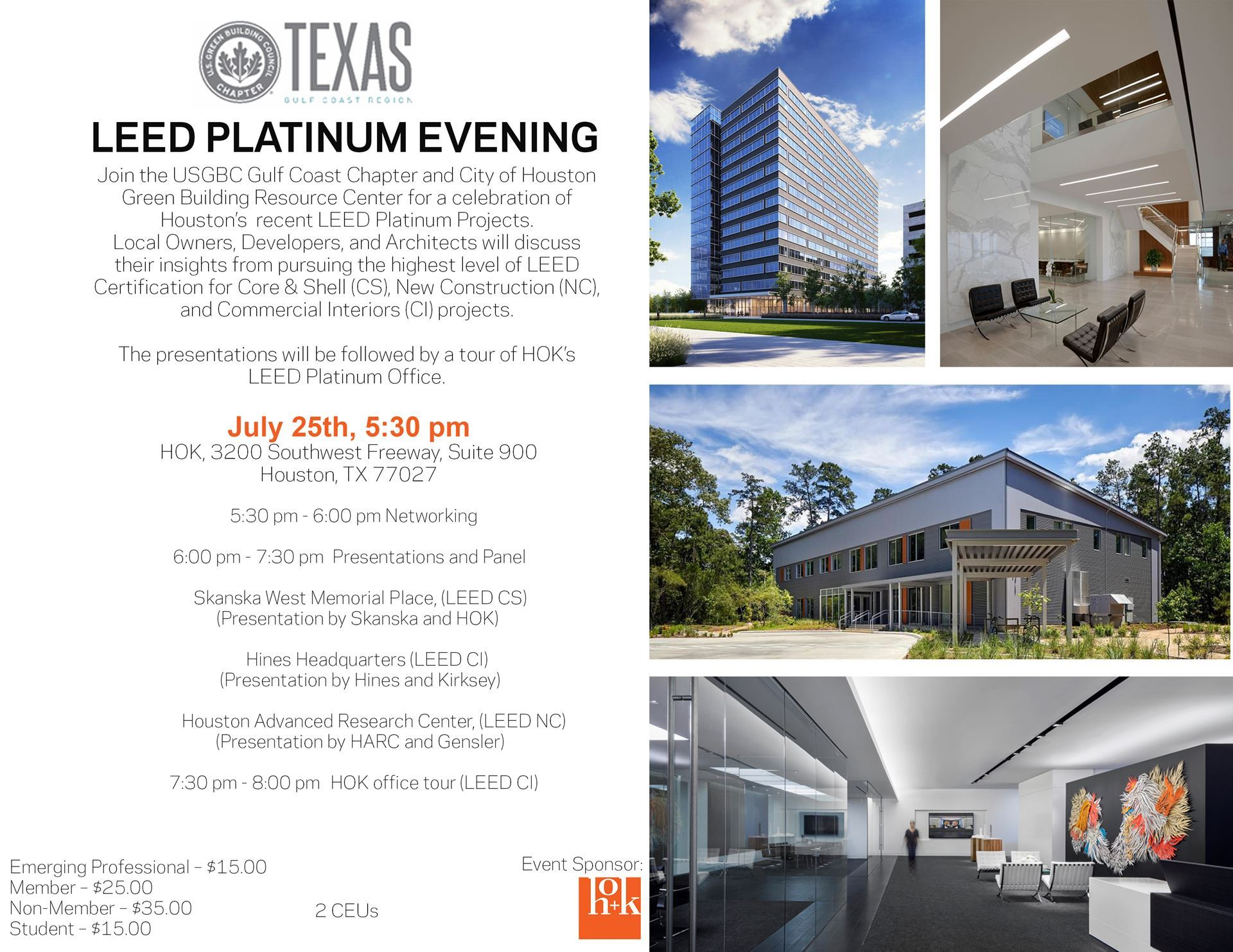 usgbc texas gulf coast leed platinum evening